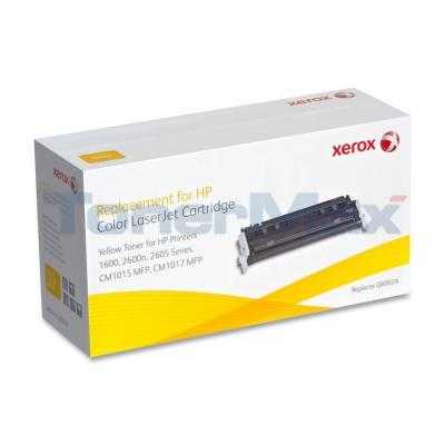 XEROX HP CLJ 1600 TONER CARTRIDGE YELLOW Q6002A
